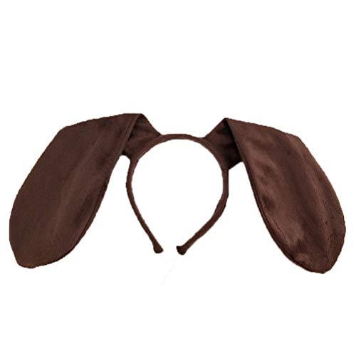 Tier Ohr Stirnbänder - Amosfun Hund Ohr Stirnband Haarreif Tier