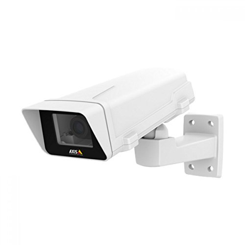 Axis Communications M1125-E Network Camera - Color - Motion JPEG, H. 264 - 1920 x 1080 - 3 mm - 10.50 mm - 3.5x Optical - Cable - Box 0750-001 by Axis