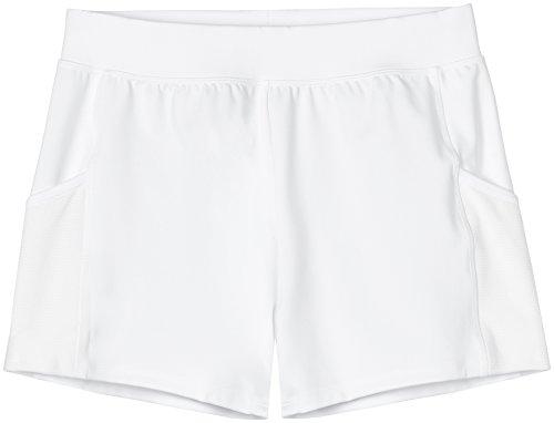 FIND Short De Sport Femme Imprimé Blanc (White)