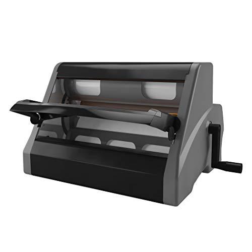 Esselte Plastificatrice manuale, 23651, Xyron XM1255, Pro Document Finisher A3, Grigio