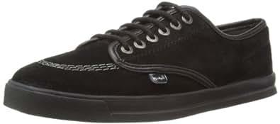 Kickers Mens Wneakie Shoes 112642 Black/Dark Grey 8 UK, 42 EU