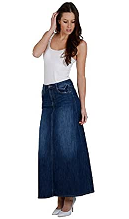 The humble denim skirt is everywhere this summer, from retro A-line, to sexy pencil and hippy button-through styles. Wearing this wardrobe staple can be a pretty daunting affair which is why we've.