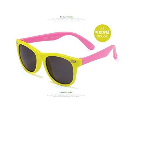 Sportbrillen, Angeln Golfbrille,NEW Boy Girls Sunglasses Kids Sun Glasses Children Glasses Polarisiert Lenses Girls Boys Tr90 Silicone Child Mirror Baby Eyewear C9