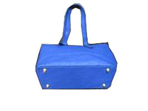 PACK Borsa A Tracolla Di Moda Donne Borsa Piccola Borsa Quadrata High-end Tre Pezzi Classic Resistente All'usura Personalità Di Stampa Elegante Raffinato Professionale Graffio,Blue Blue