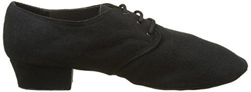 Sansha Js43 C Cabaret Jazz Chaussures Noir Femme