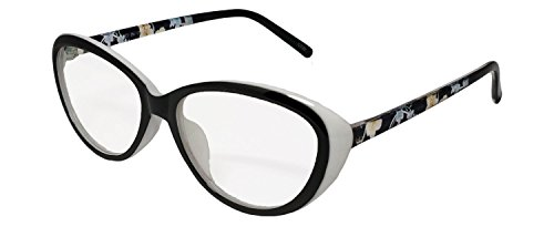 2bd06a82241 Sale! Stylish White Cat Eye Women Spectacle Frame with Dummy Glasses ...