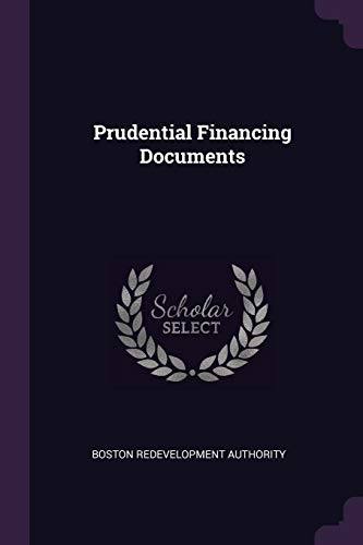 Prudential Financing Documents