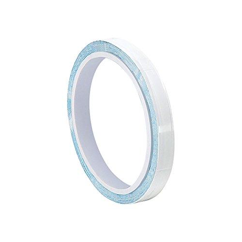 TapeCase 0, 125-5- 8815 3 m, 3 m, colore: bianco di polimero acrilico adesivo conduttore 8815-Nastro a trasferimento termico, spessore (0,015 0,04 cm, lunghezza 5 m, larghezza 0,32 (0,125 cm - 3 A Trasferimento Termico Bianco