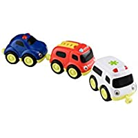 Early Learning Centre 142667 Whizz World Emergency Vehicles Magnetic Trio Set