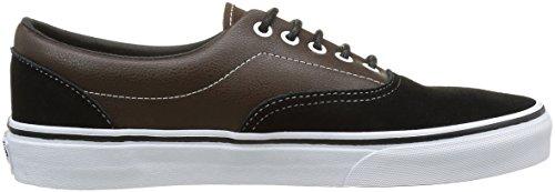 Vans Unisex-Erwachsene Sneakers Mehrfarbig ((Suede & Leather) demitasse/Black)