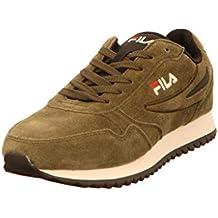 Fila Scarpe Uomo Sneakers Orbit Jogger Ripple in camoscio Verde 1010413-50K 43b0d716ed1