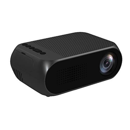NIUQY Ausverkauf Tragbarer Mode-Design Projektor-Mini-3D-Heimkino-Theater YG320 1080P HD LED mit Lautsprecher-Heimgebrauch kompatibel Gerät aufrüsten Intelligentes Gerät Dienstprogramm Werkzeug