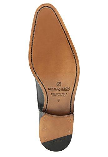 SHOEPASSION.com , Chaussures de ville à lacets pour homme Noir