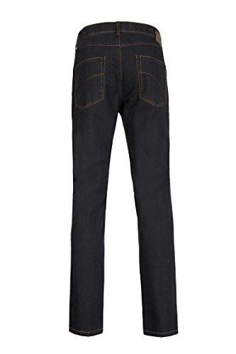 Club of Comfort Herren Jeans auch große Größen Schwarz