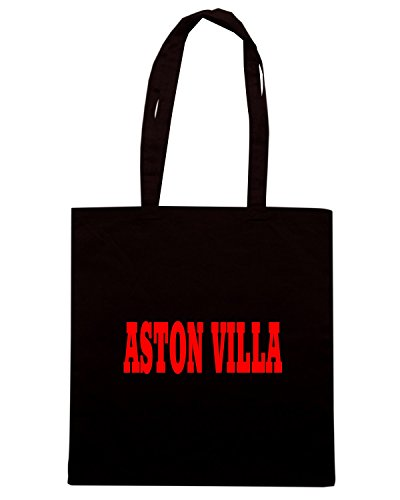 T-Shirtshock - Borsa Shopping WC0686 ASTON VILLA Nero