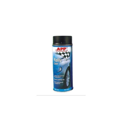 Preisvergleich Produktbild APP Rally Color Acryllackspray schwarz matt 500 ml 210102