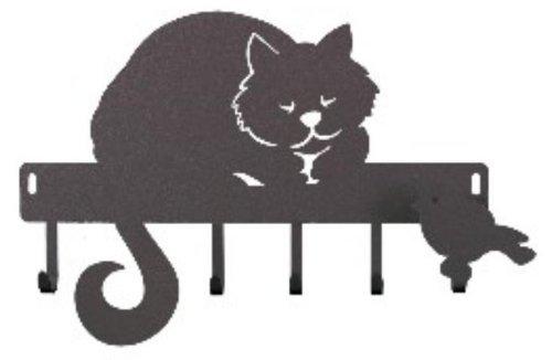 portachiavi-gatto-romeo-arti-e-mestieri-colore-nero
