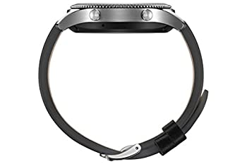 Samsung Gear S3 Classic (3,3 Cm (1,3 Zoll) Display, Nfc, Bluetooth, Wlan, Tizen Os), Mit Echtleder-armband 5