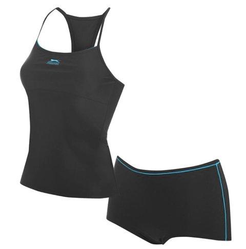 slazenger-tanikini-for-ladies-color-black-turquoise-xxxxl