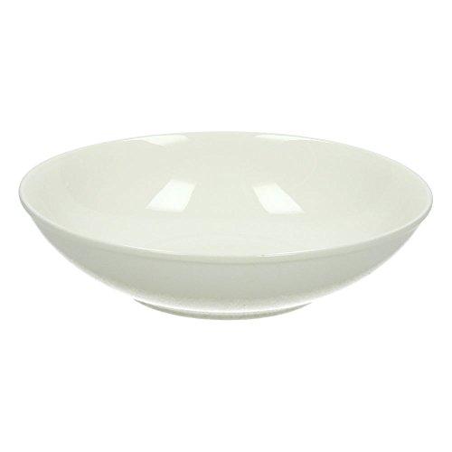 Tognana 20 cm - 3 Pièces-Perle-Lot de 6 Assiettes à Soupe Blanc