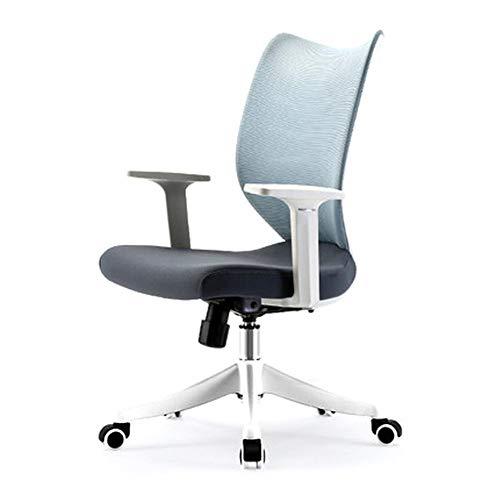 Bürostuhl Robuste Arme Und Rückenstütze Ergonomischer Schreibtischstuhl Mit Rädern Hochlehner Drehstuhl Computer Stuhl Schreibtischstuhl Hochlehner Atmungsaktiv ( Farbe : C3 , Größe : Einheitsgröße )