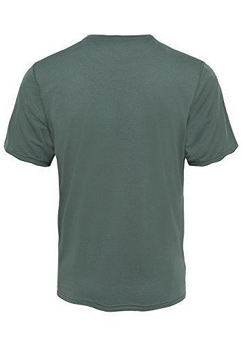 The North Face M Flex S/S EU T Shirt, Herren L Grün (Thyme)