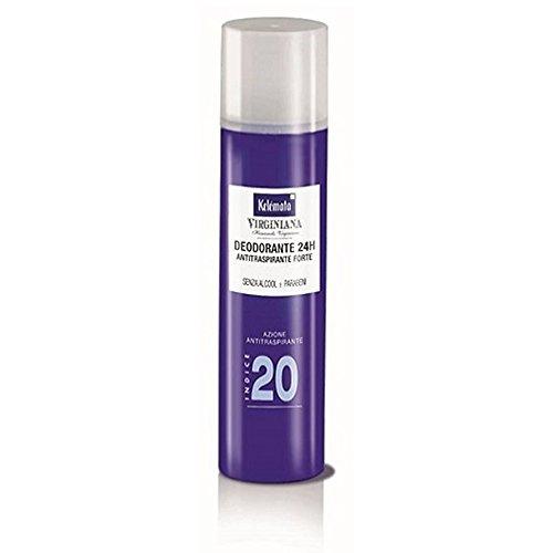 Kelemata Virginiana Deodorante Spray Azione Antitraspirante Indice 20 100 ml