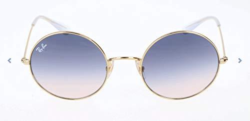 RAYBAN JUNIOR Damen Sonnenbrille Ja-Jo Gold/Lightbrowngradientblue 50