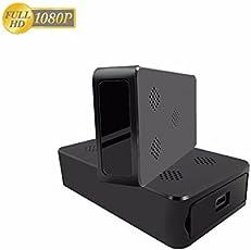BriReTec® Mobile Spy-Cam Blackbox1080p,incl 32GB Speicher Nachtischt, Bewegungsmelder Pir Sensor,14 Tage Standby