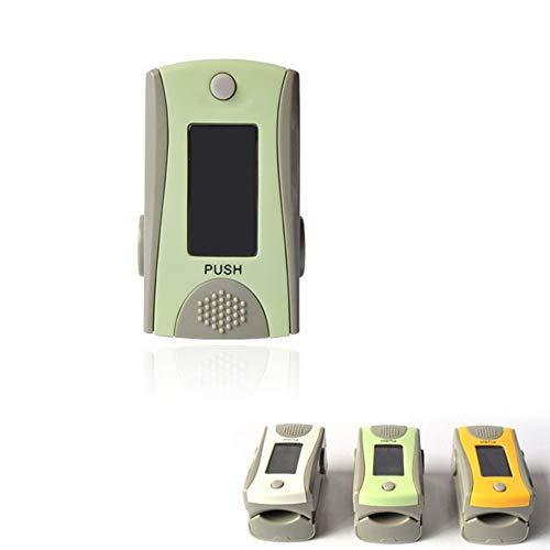 LXZSM Fingertip Pulsoximeter, Schnelle Messungen Sauerstoffsättigung Pegelmesser Pulsmesser OLED-Display Digitale Blutsauerstoff- & Pulsmesser