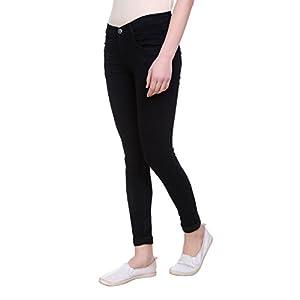 Pantoff Women's Slim Fit Black Jeans 2