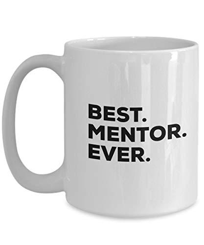 shenhaimojing Mentor Mug - Best Mentor Ever Coffee Cup - Gifts for Women Men - Appreciation from Mentee - Nurse Nursing Teacher Office Doctor Boss Supervisor - FEMA