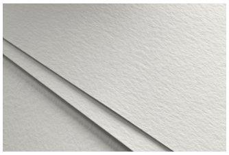 Fabriano Unica - Kunstdruckpapier - 50 % Baumwolle - ideal für Drucke - 50 x 70 cm - 10 Blatt mit 250 g/m² - Weiß