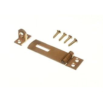 de sécurité HASP et agrafer pour le pad se verrouille en laiton 50mm avec vis