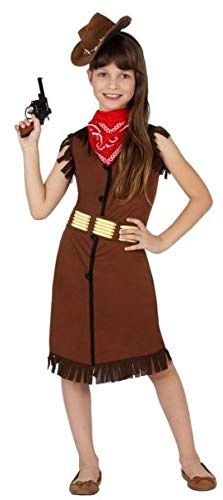 Fancy Me Mädchen Cowgirl Sheriff Wild West Halloween Karneval Kostüm Outfit 3-12 Jahre Cowgirl Halloween-outfits