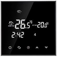 HaiMa Hy03We-4 Wifi Lcd De Pantalla Táctil Termostato Inteligente-Negro