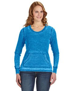 Ladies' Zen Thermal Long-Sleeve T-Shirt OCEANBERRY M (Blau Thermal Sleeve T-shirt Long)