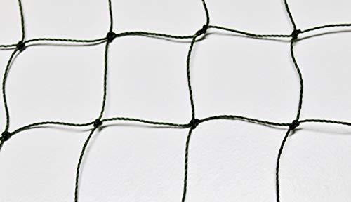 Pieloba Geflügelnetz Geflügelzaun Weidezaun - Oliv grün - Masche 5 cm - Stärke: 1,2 mm - Höhe: 1,20 m Meterware