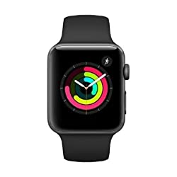 Apple Watch Series 3 42mm Oled, Touchscreen, Gps, 18 H, 32,3 G, Grau