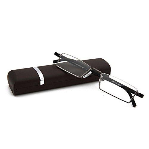 Zhuhaixmy Lichtbehandlung ist nicht deformiert Lesebrille alte Brille High-Definition-Original-Box zu senden