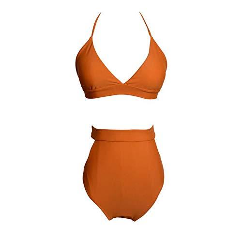 Badebekleidung Sexy Mode Keine Felgen Dreieck Cup Insel Tour Bikini Split Badeanzug Weiblich L, M, S, XL, XXL Frauen Mädchen Wettkampfbadebekleidung