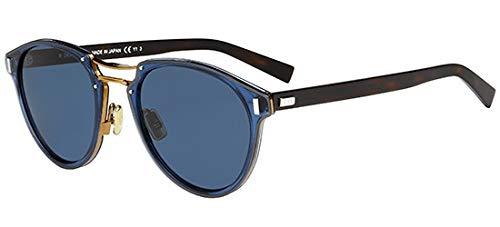 Dior Sonnenbrillen BLACK TIE 2.0S L BLUE BEIGE DARK HAVANA/BLUE Herrenbrillen