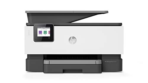 HP OfficeJet Pro 9010 (3UK83B) Stampante Multifunzione a Getto di Inchiostro, Stampa, Scannerizza, Fotocopia, Fax, Wi-Fi, Wi-Fi Direct, Smart Tasks, Compatibile con il Servizio di Instant Ink, Nera