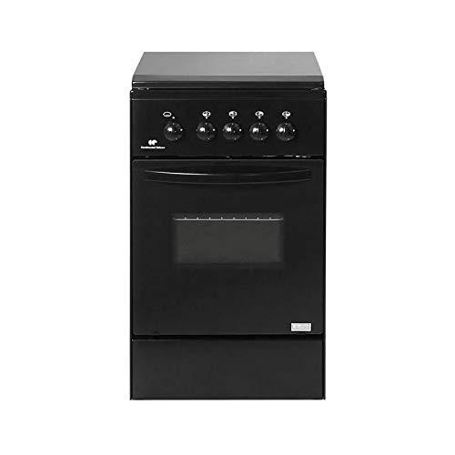 Continental edison ce105nsc2 cuisiniere Table gaz-4 foyers-Four gaz-Nettoyage Manuel Email lisse-40l-a+-l45 x h86cm-noir