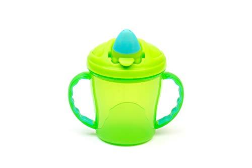 Vital Baby Free Flow Cup, grün und türkis