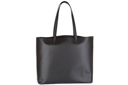 8BH33580PF0ERR Fendi Sacs de shopping Femme Cuir Noir Noir