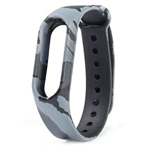 Brain Freezer Printing Wrist Strap Compatible with Xiaomi MI Band 2 HRX with Screen Protector
