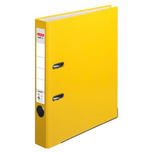 herlitz-5451307-ordner-maxfile-protect-a4-5-cm-mit-einsteckruckenschild-gelb