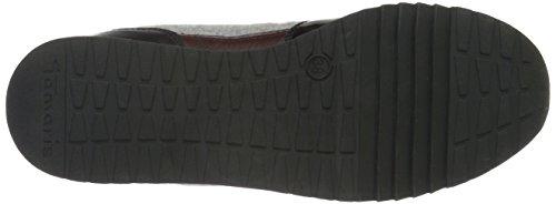 Tamaris 23602, Baskets Basses Femme Gris (Grey Wool Comb 222)
