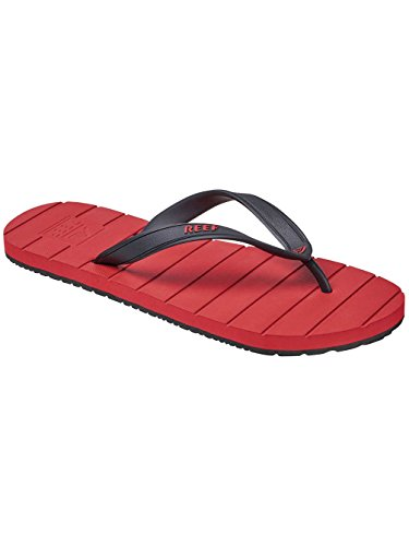 Reef Herren Switchfoot Tan/Black Zehentrenner Red/Black